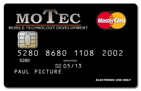 Die motec - Mastercard.