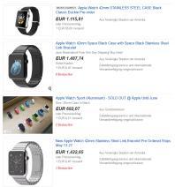 Apple Watch bei eBay