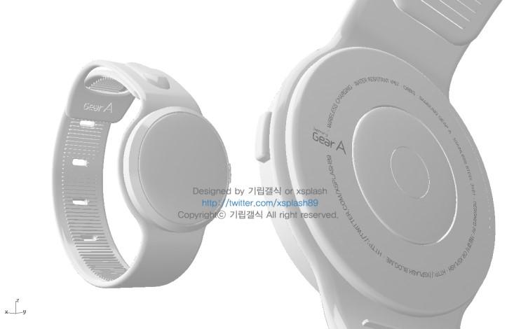 """Samsungs Smartwatch """"Orbis"""" - Concept"""