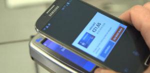 Zahlen per NFC (Bild telefonica)