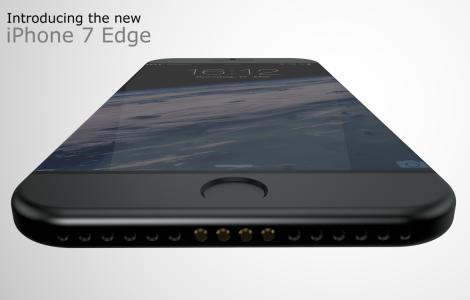 Konzeptbilder von Hasan Kaymak zum iPhone 7 Edge