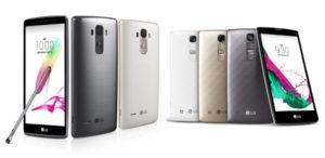 LG G4 Stylus und LG G4c (Bildquelle: LG)