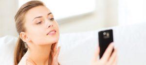Smartphone als Spiegel