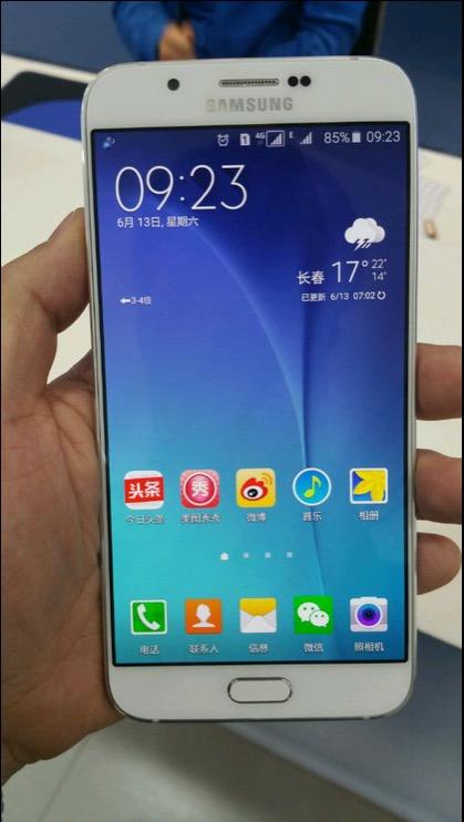 Samsung Galaxy A8 (Bild: phonearena.com)