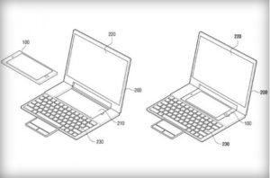 Samsung Laptop-Dock (Bild: US-Patent- und Markenamt)