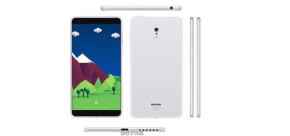 Das Nokia C1 (Bild weibo)