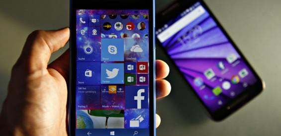 Project Astoria sollte Android-Apps unter Windows 10 mobile ermöglichen