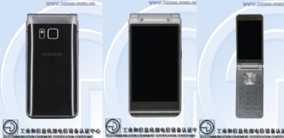 Samsungs Klapphandy ( Bild TENAA )