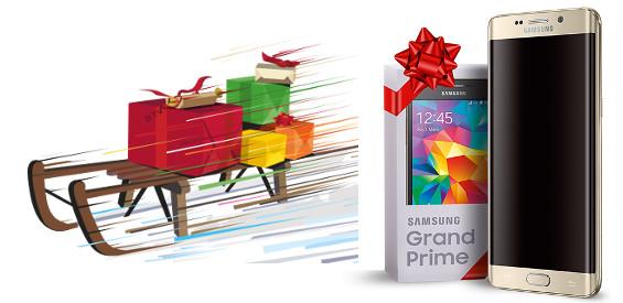 Samsungs Weihnachts-Offerte (Bild Samsung Mobile)