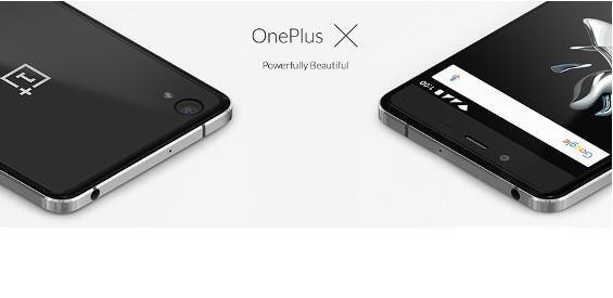 Das OnePlus X (Bild: OnePlus)
