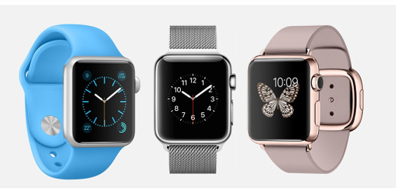 Apples Smartwatch (Bild Apple)