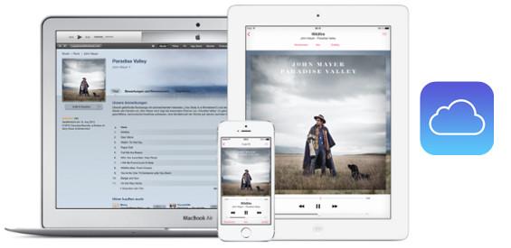 Apples iCloud (Bild Apple)