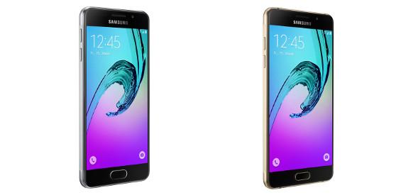 Die Modelle Galaxy A3 und Galaxy A5 (Bild Samsung mobile)