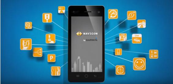 Die Navigations-App Navigon (Bild Navigon)