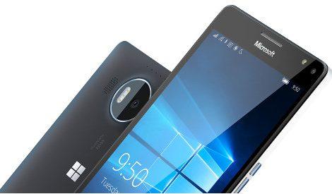 Microsoft Lumia 950 XL (Bild Microsoft)