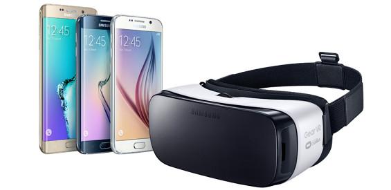 Samsung Gear VR für die S6 - Familie (Bild Samsung)