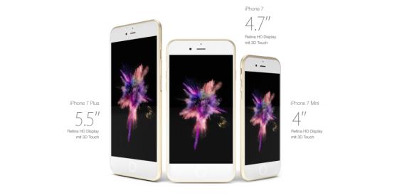 Die Modelle des iPhone 7 (Bild: Handy-Abovergleich/Huismann)