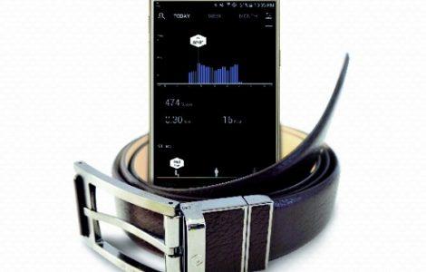 WELT ist ein Gürtel der dank eingebauter Sensoren Körperwerte messen kann (Bild Samsung)