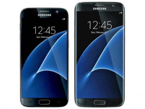 Galaxy S7 Frontansicht (Bild evleaks)
