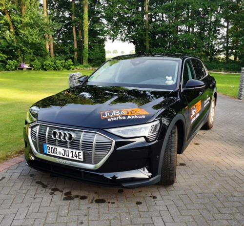 Der Audi eTron der Firma JuBaTec aus Heek